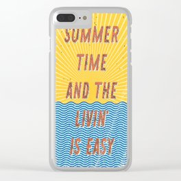 Summertime - A Hell Songbook Edition Clear iPhone Case