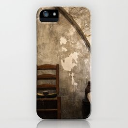 A cell in La Conciergerie de Paris iPhone Case