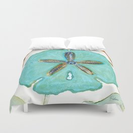 Sand Dollar Star Attraction Duvet Cover