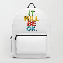 It will be ok! Backpack
