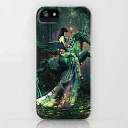 the Each Uisge - Prince of Waterhorses iPhone Case