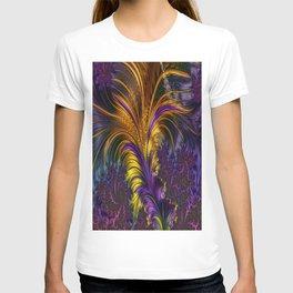 Fractal feather T-shirt