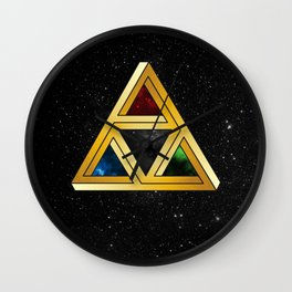 The Tri[llusion] Force Wall Clock