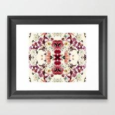 Flora Print Framed Art Print