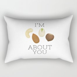 I'm Nuts About You Rectangular Pillow