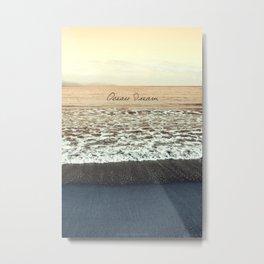 Ocean Dream III Metal Print