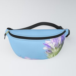 Lilac wildflower Fanny Pack