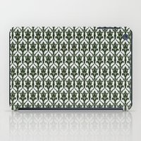 221b iPad Cases featuring 221b Wallpaper by rogueleader