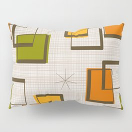 Rectangles and Stars Pillow Sham