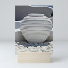 White Calmness Mini Art Print