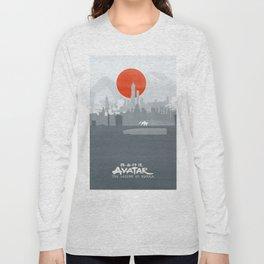 Avatar The Legend of Korra Poster Long Sleeve T-shirt