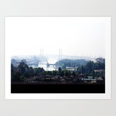 From the Top Art Print