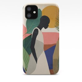 Tropical Girl iPhone Case