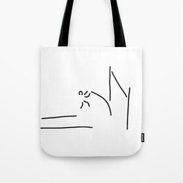 pole vault athletics Tote Bag