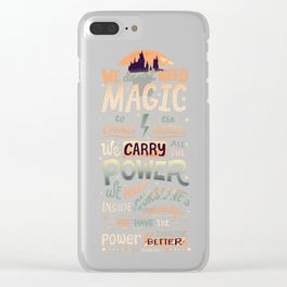 Imagine Better Clear iPhone Case