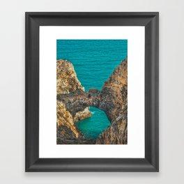 Ponta da Piedade, Algarve, Portugal IV Framed Art Print