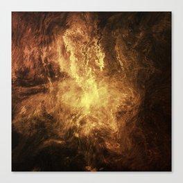 The Burning Canvas Print