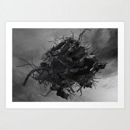 HIGH STEEL Art Print