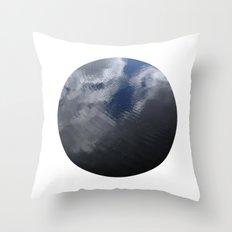 Planetary Bodies - Cloud Ripple Throw Pillow