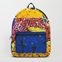 Emily paints her Story, AUSTRALIA                   by Kay Lipton Backpack