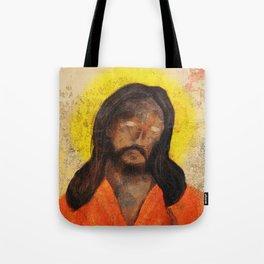 Jumpsuit Jesus Tote Bag