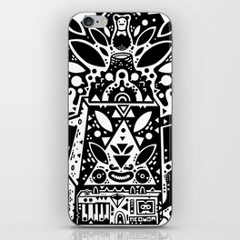 kozmik machine iPhone Skin