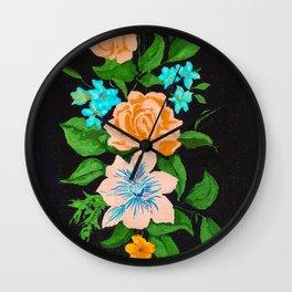 MAHALA FLORAL Wall Clock