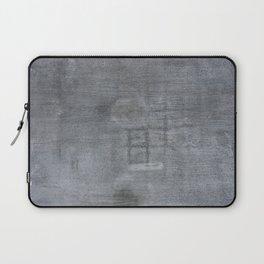 Urban Texture Photography - Concrete Hangar Floor Laptop Sleeve
