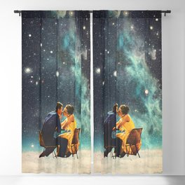 I'll Take you to the Stars for a second Date Blackout Curtain