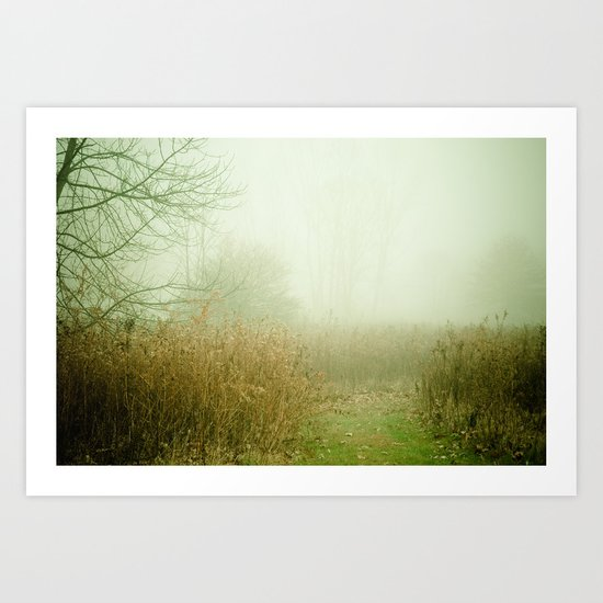 A Lovely Faded Memory of You Art Print