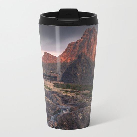 Rocky Peak Metal Travel Mug
