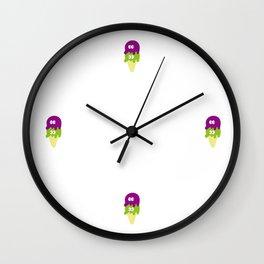 POE & RONI Wall Clock