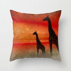 Africa Feeling 2 Throw Pillow