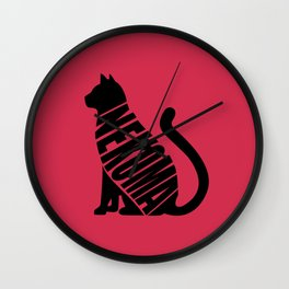 Nekoma Wall Clock
