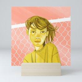 Yellow Girl Mini Art Print