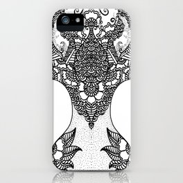Unity of Halves - Life Tree - Rebirth - White iPhone Case