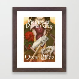 The Picture of Dorian Gray by Oscar Wilde Framed Art Print