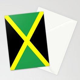 Jamaica Flag Stationery Cards