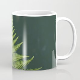 Fern Leaf Green Coffee Mug