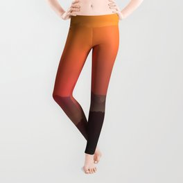 Sunrise Over Blue Ridge Mountains Leggings