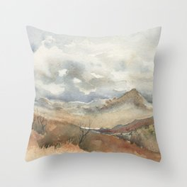 Old Stagecoach route to Nutt Throw Pillow