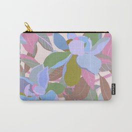 Magnolias on Ivory Carry-All Pouch