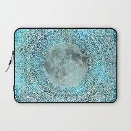 Mandala Moon Magic Spiritual Zen Bohemian Hippie Yoga Mantra Meditation Laptop Sleeve