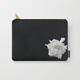 Gardenia on Black DPG150524 Carry-All Pouch