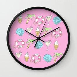 Havin' a Summer! Wall Clock