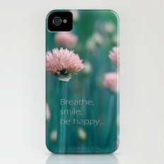 Blue Field Slim Case iPhone (4, 4s)