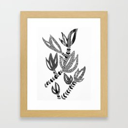 Tropical Succulent Framed Art Print