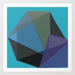 Classic Blue 2 Art Print