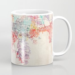 Enterprise map Nevada painting Coffee Mug