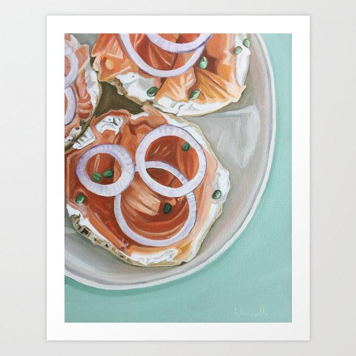 Breakfast Delight Art Print
